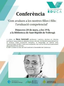 Conferència Neus Sanmartí