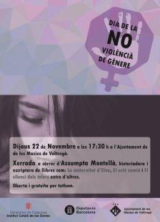 Dia de la NO-Violència de Gènere