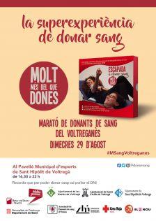 Marató donants sang