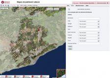 Imatge web del mapa de patrimoni cultural